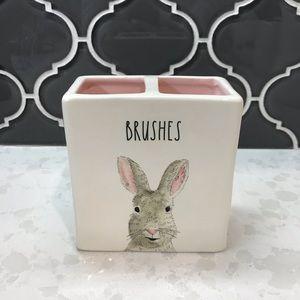 Rae Dunn Bunny BRUSHES Holder